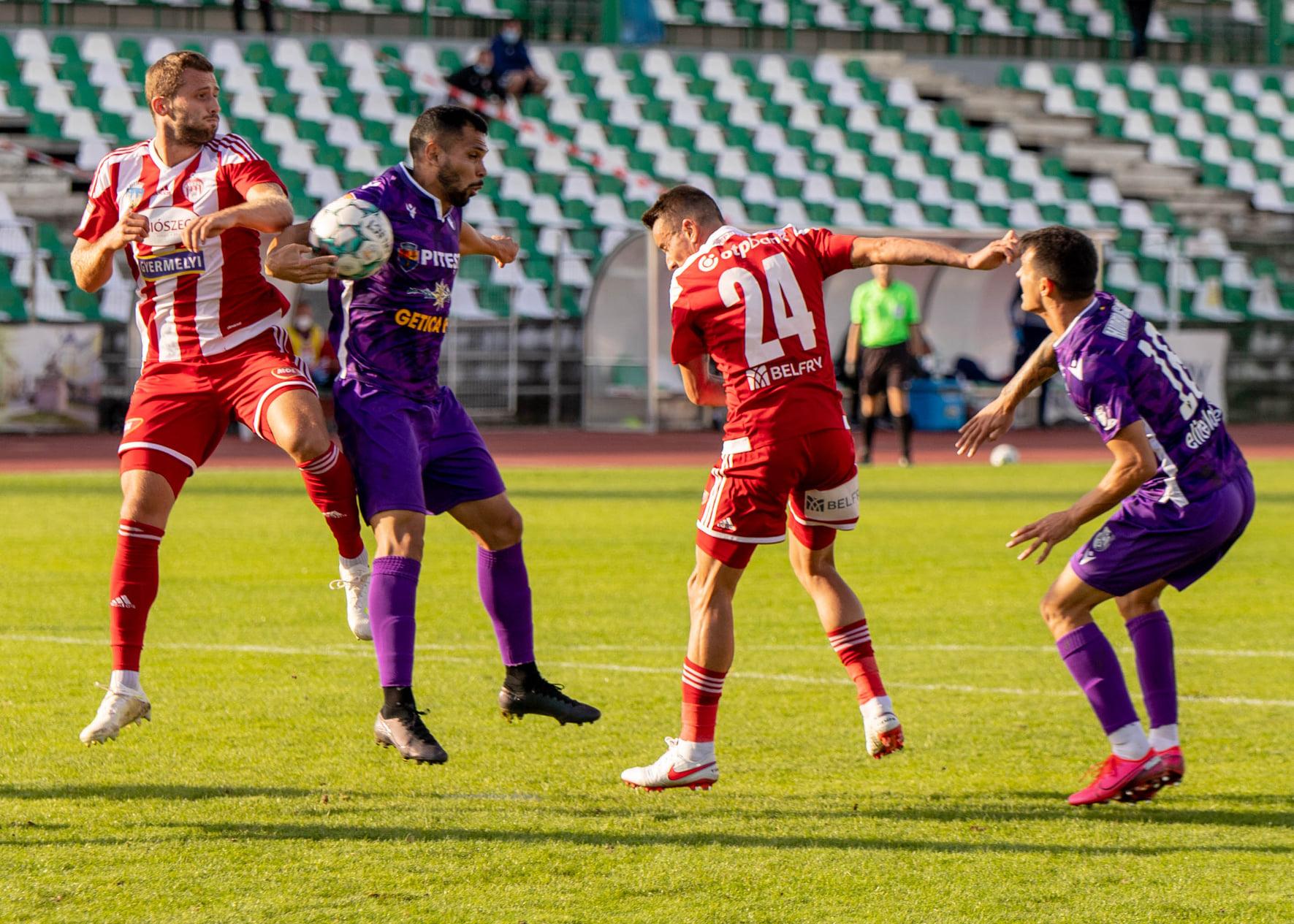 6. Forduló SEPSI OSK 1 - 0 FC ARGEȘ PITEȘTI